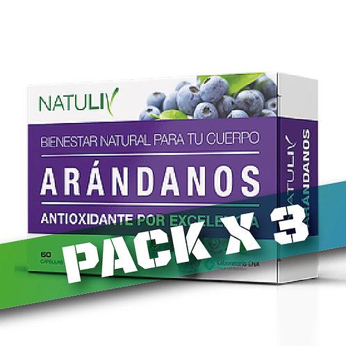 10% OFF - ARÁNDANOS (Pack x 3)