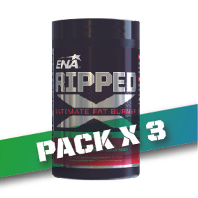 15% OFF - RIPPED X Pack x3