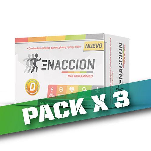 10% OFF - ENACCION MULTIVITAMINAS (Pack x 3)