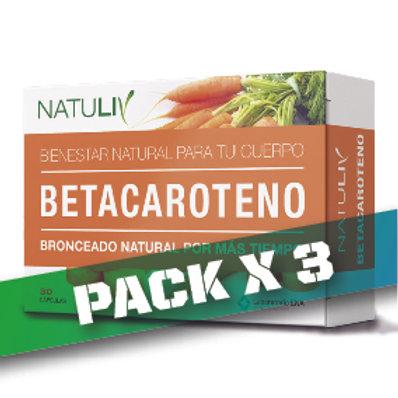 10% OFF - BETACAROTENO (PACK x3)