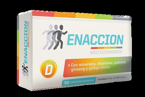 ENACCION (VITAMINAS + ENERGIZANTES)