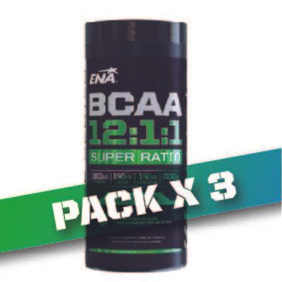 6% OFF - BCAA 12:1:1 SUPER RATIO (Pack x3u)