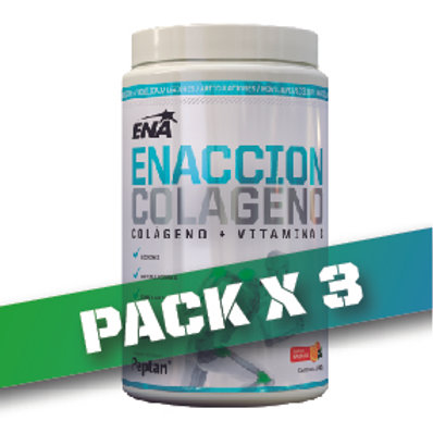 8% OFF - ENACCION COLAGENO 240gr (PACK x3u)