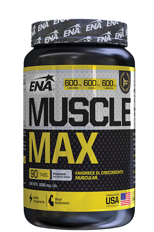 MUSCLE MAX x 90 tbs