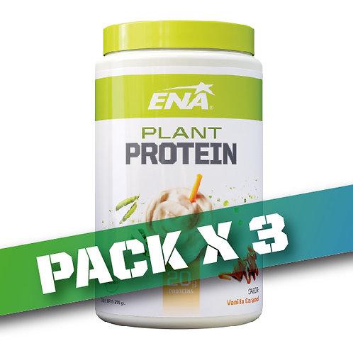 15% OFF - Plant Protein x 375 grs (Pack x 3u)
