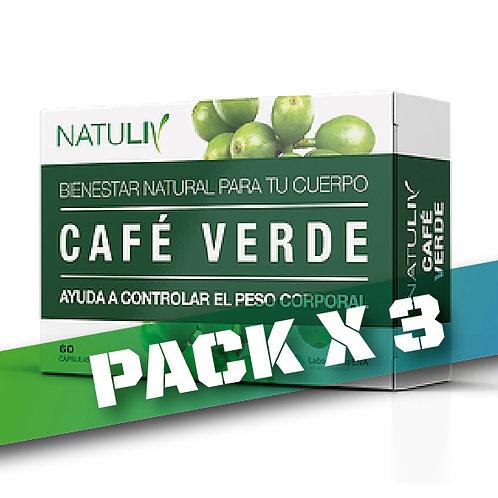 10% OFF CAFÉ VERDE (Pack x 3)