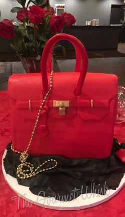 "Red Designer ""Purse"""