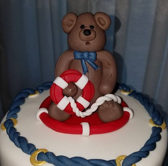 SO_Nautical Baby Shower Teddy Bear