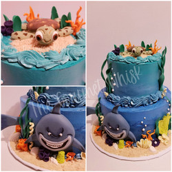 SEA LIFE BIRTHDAY CAKE