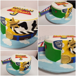 Buzz & Woody Birthday Cake
