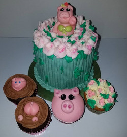 B_Flowers & Pigs