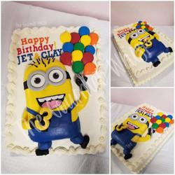 MINIONS BIRTHDAY CAKE 01