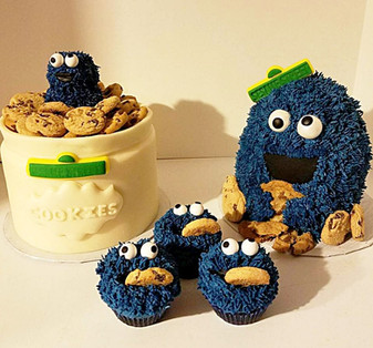 Cooookie Monster Birthday