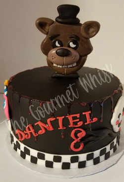 FREDDY'S THEMED BIRTHDAY CAKE