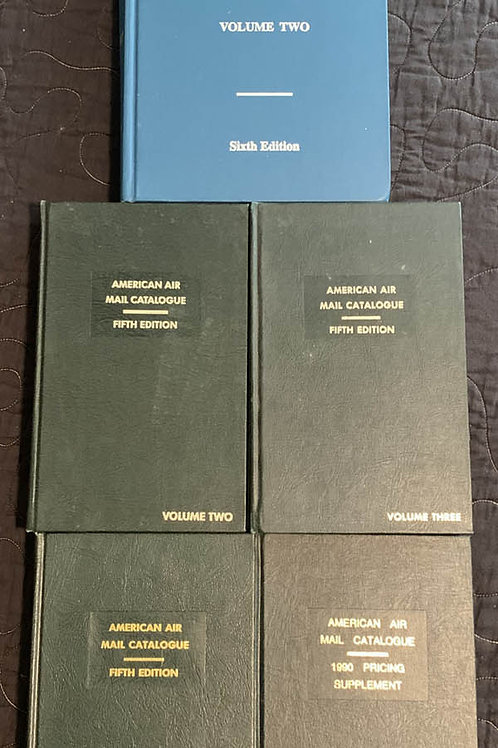 American Air Mail Catalogues, Fifth Edition - 101307