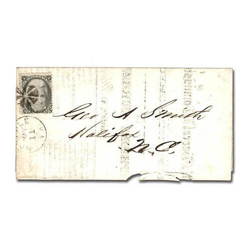 1863, 2c black