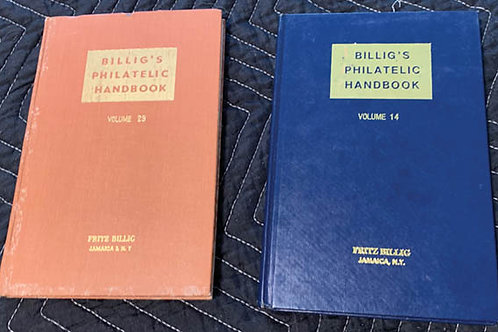 Billig's Handbook Volume 14 & 23 - 101335