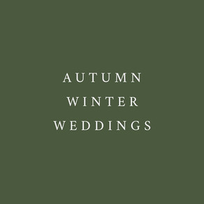 Found yourself planning an Autumn / Winter wedding due to Covid? Here's some top tips & inspiration!