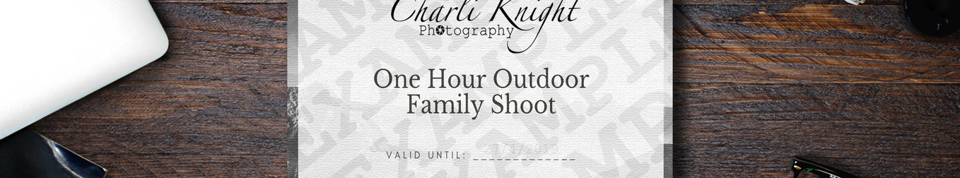 1 Hour Outdoor Family Shoot £150
