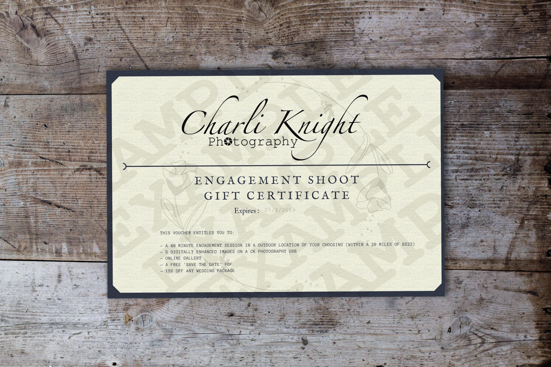 Engagement Shoot Gift Voucher £99