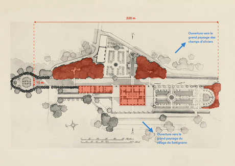 Gamberaia - Plan masse - 06/2011