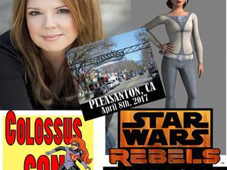 Julie Dolan Attending Colossus Con! Pleasanton 2017!