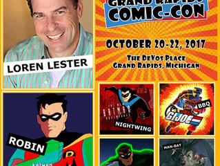 Loren Lester Attending Grand Rapids Comic-Con 2017!