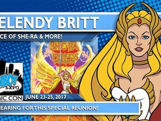 Melendy Britt Attending Fanboy Expo 2017!