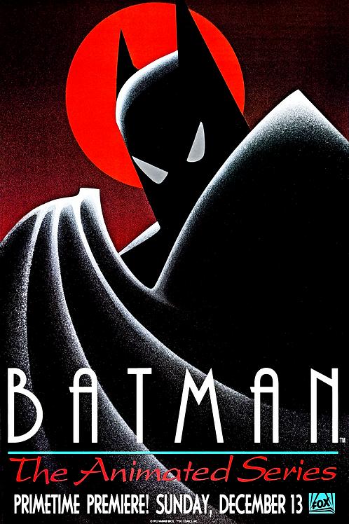 Batman Animated Series Poster DP (8x10, 11x14, 11x17)