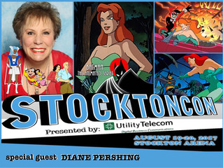Diane Pershing Attends StocktonCon 2017!