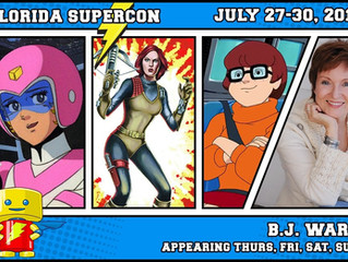 B.J. Ward Attending Florida Supercon 2017!