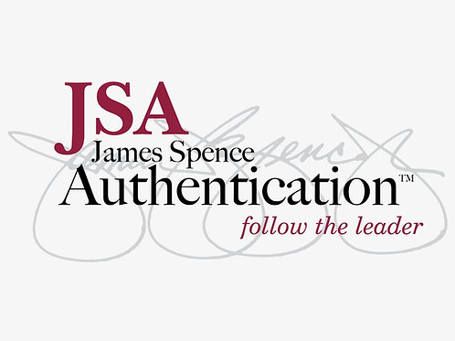 James Spence Authentication Certification