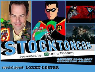 Loren Lester Attends StocktonCon 2017!
