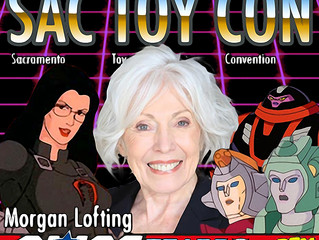 Morgan Lofting Attending Sac Toy Con 2017!