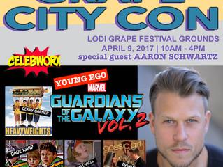 Aaron Schwartz Attending Grape City Con 2017!