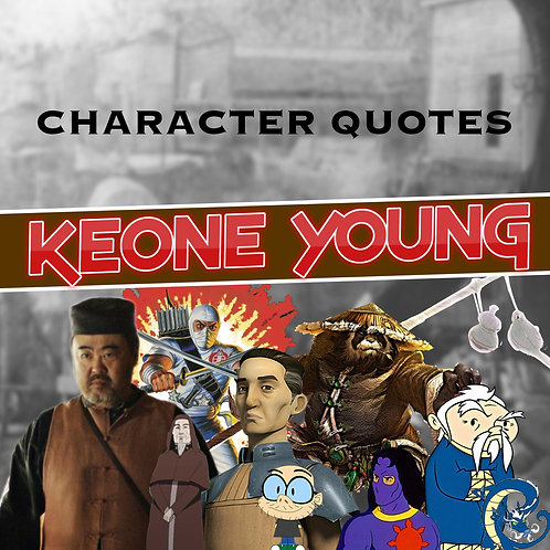 Quotes and Lengthy Inscriptions - Keone Young