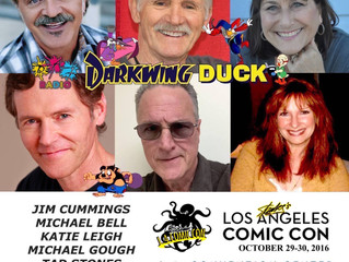 Darkwing Duck Cast Reunion! Client Katie Leigh and Michael Bell Attending Stan Lee's Comikaze! 2