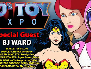 B.J. Ward Attending Canadian 80s Toy Expo 2017!