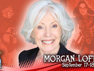 Morgan Lofting! Baroness In G.I. Joe! Attending Long Beach Comic Con 2016!