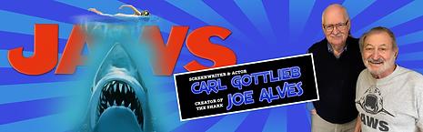 Jaws Joe Alves Carl Gottlieb CelebWorx Book Comic Convention Booking Agency Nery Lemus