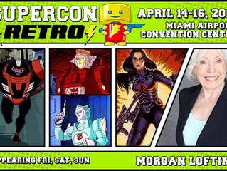 Morgan Lofting Attending Supercon Retro 2017!