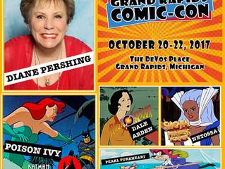 Diane Pershing Attending Grand Rapids Comic-Con 2017!