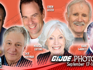 G.I. Joe Cast Reuniting At Long Beach Comic Con 2016!