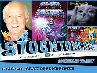 Alan Oppenheimer Attends StocktonCon 2017!