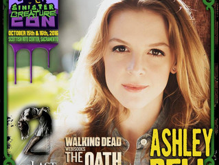 Ashley Bell Attending Sinister Creature Con 2016!