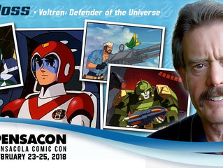 Neil Ross Attending Pensacon 2018!