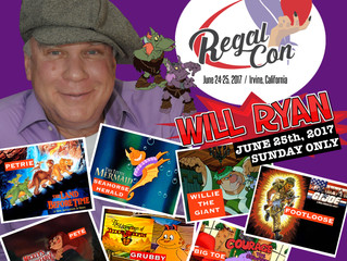 Will Ryan Attending Regal Con 2017!