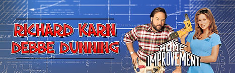 Richard Karn Debbe Dunning Home Improvement CelebWorx Book Comic Convention Booking Agency Nery Lemus