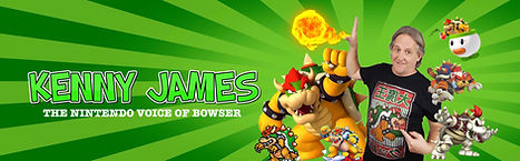 Kenny James - Bowser CelebWorx Book Comic Convention Booking Agency Nery Lemus