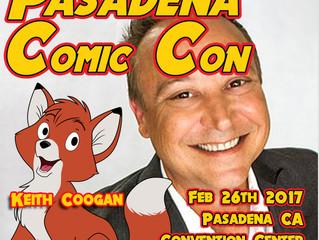 Keith Coogan Attending Pasadena Comic Con 2017!